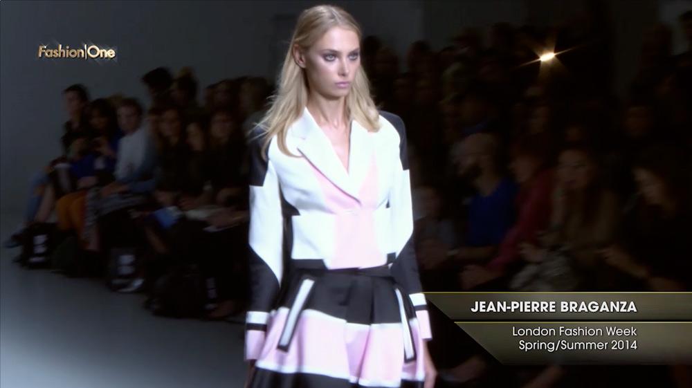 Jean Pierre Braganza London Fashion Week Spring Summer 2014