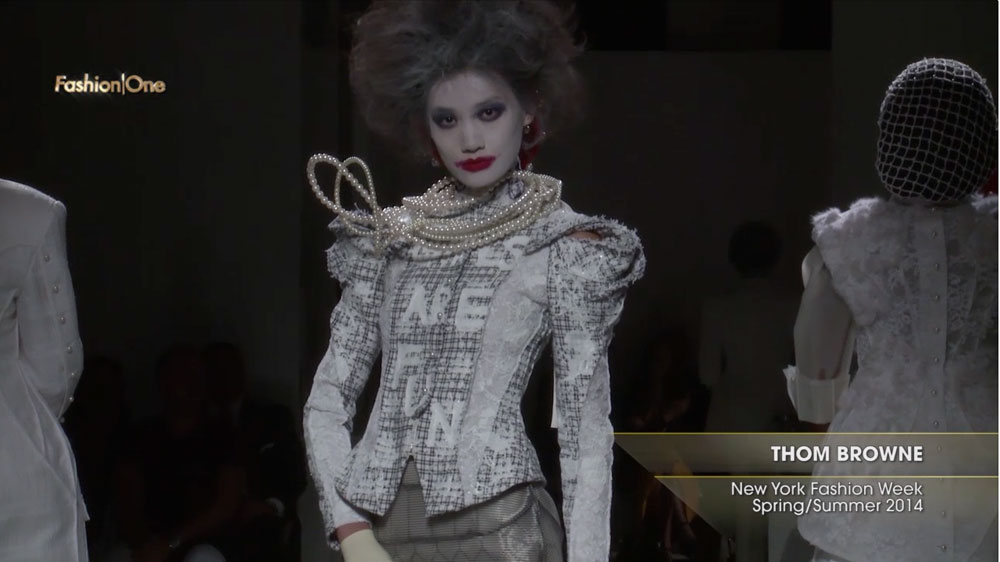 Thom Browne New York Fashion Week Spring Summer 2014