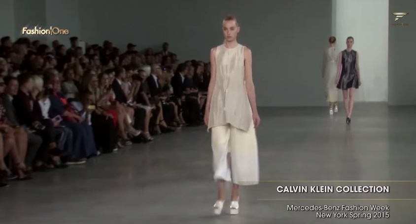 A Subtle Spring is Upon Us at Calvin Klein Spring/Summer 2015