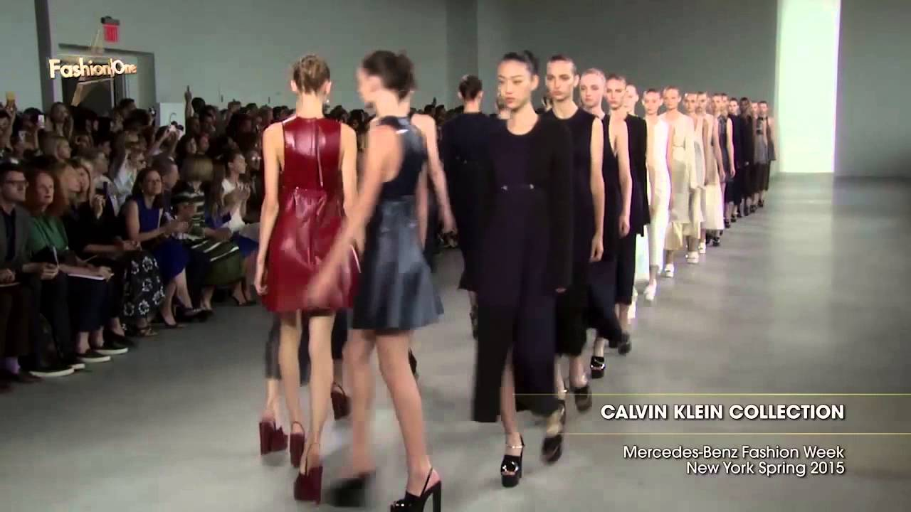 Luxury Minimalism at Calvin Klein Spring/Summer 2015