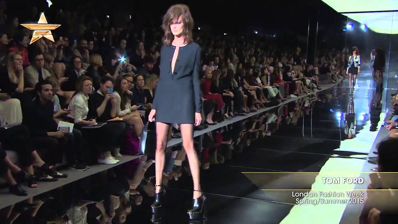A Touch of Innuendo at Tom Ford Spring/Summer 2015