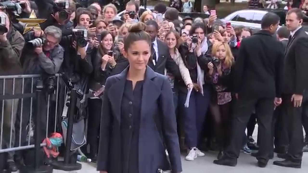 Chanel Celebrity Arrivals Paris Haute Couture Autumn/Winter 2014-15