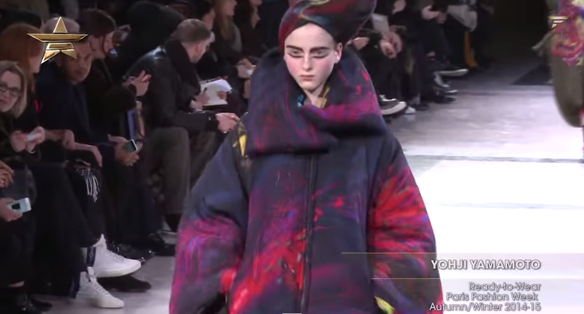 Volume and Space: Yohji Yamamoto Ready-to-Wear Paris Fashion Week Autumn/Winter 2014-15