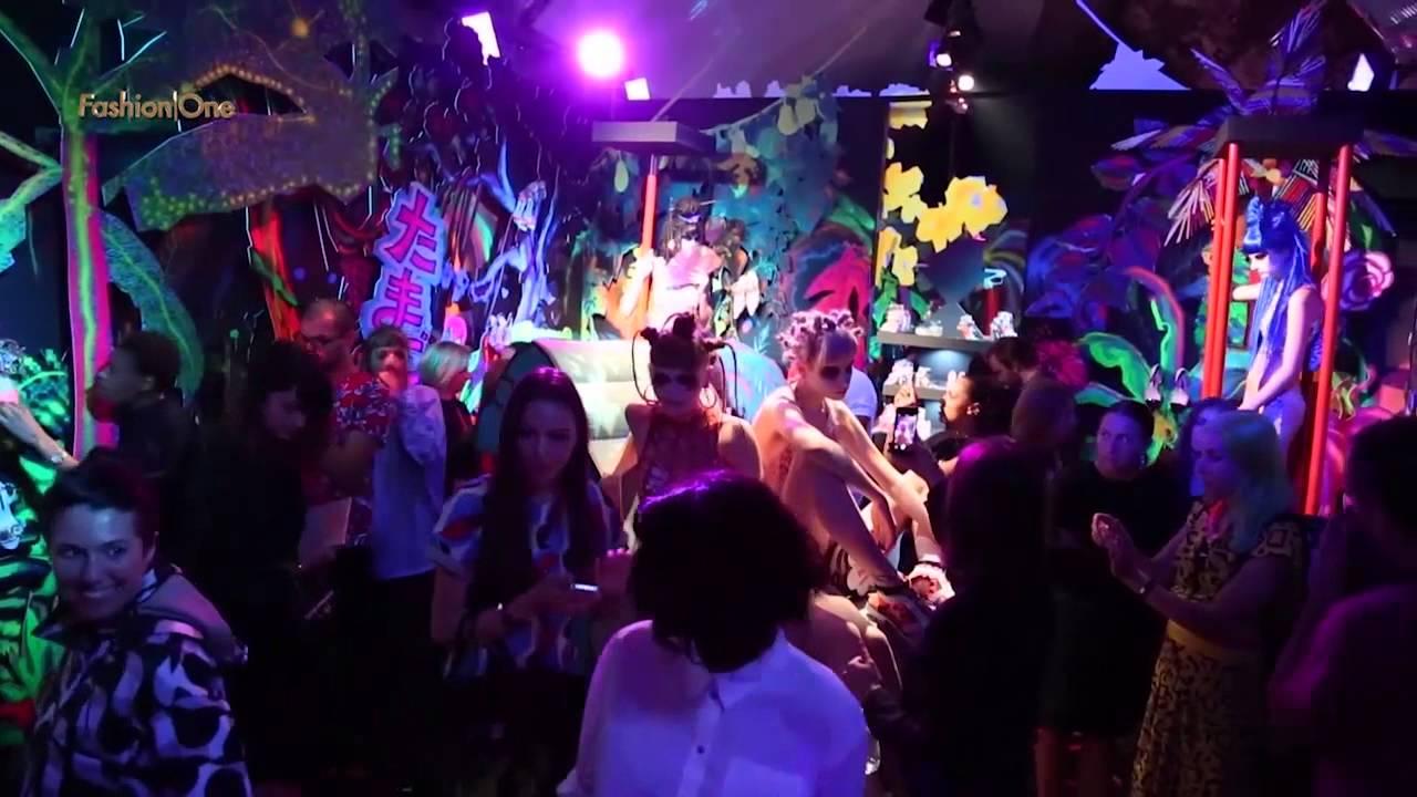 Jungle Is Massive at Sophia Webster Spring/Summer 2015