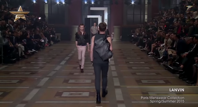 The Male in Motion: Lanvin Paris Menswear Collection Spring/Summer 2015