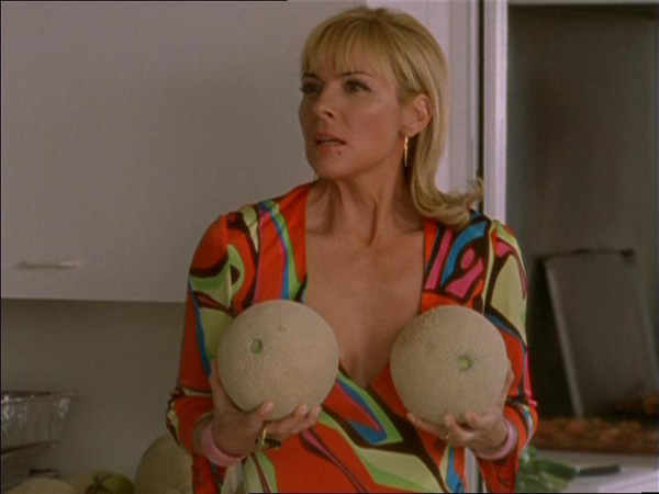 Samantha Jones Isn't DTF with Christian Grey, Here's Why