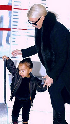 North West Loves Frozen, Leaves Fashion Week in Style
