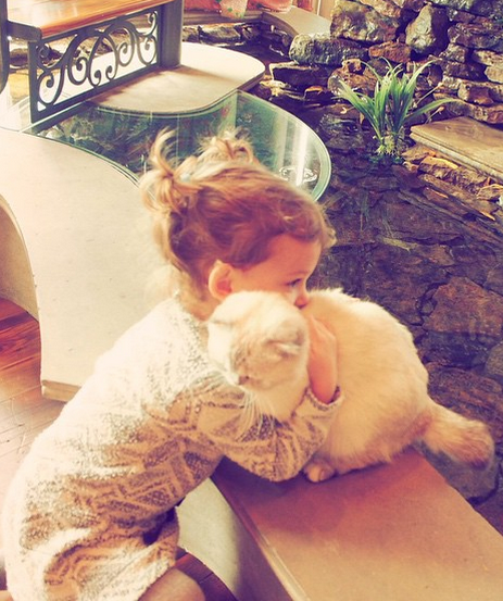 Lily Aldridge's Daughter BFFs with Taylor Swift and Cats