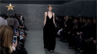 Vera Wang Pairs Sexy Femininity with Sharp Men's Tailoring in Black