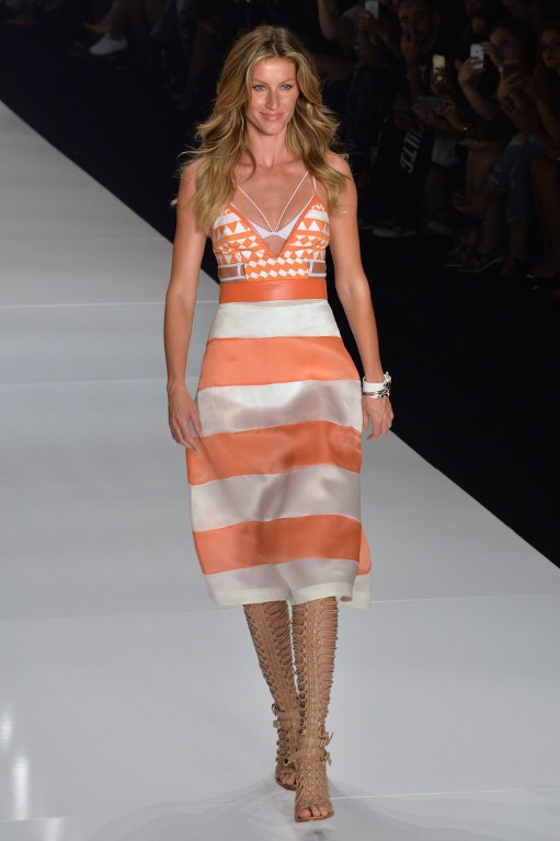 One Last Runway for Gisele Bündchen at Sao Paulo Fashion Week