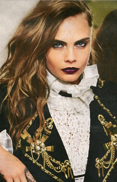 SNEAK PEEK at Cara Delevingne's Latest Campaign for Chanel