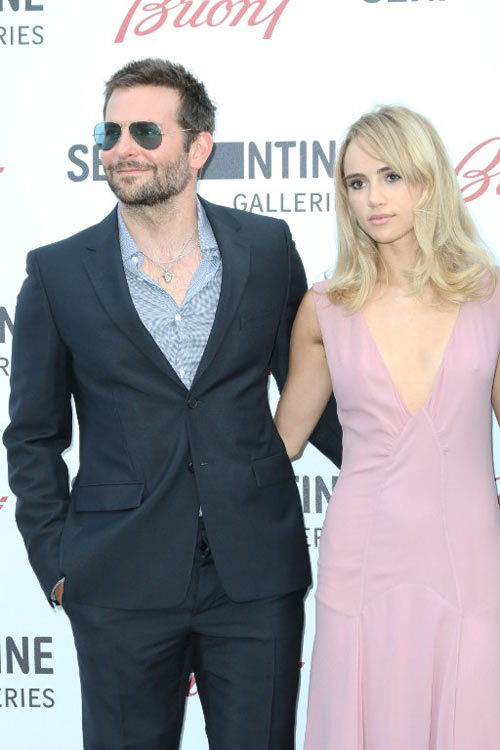 Bradley Cooper and Suki Waterhouse Caught Canoodling at Coachella, See the Pics!