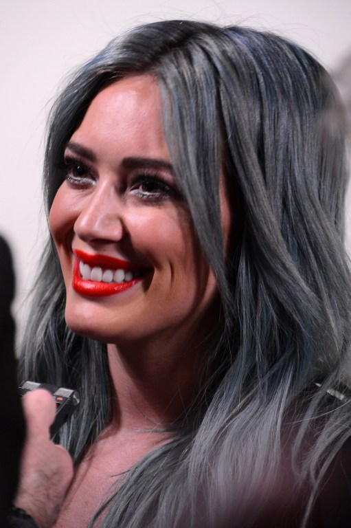 Hilary Duff's Hair is Now Pink!