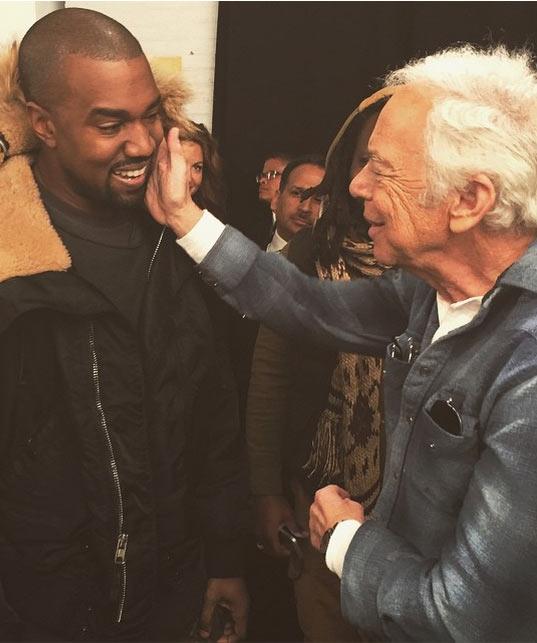 """Kanye West Calls Ralph Lauren His """"Daddy"""""""