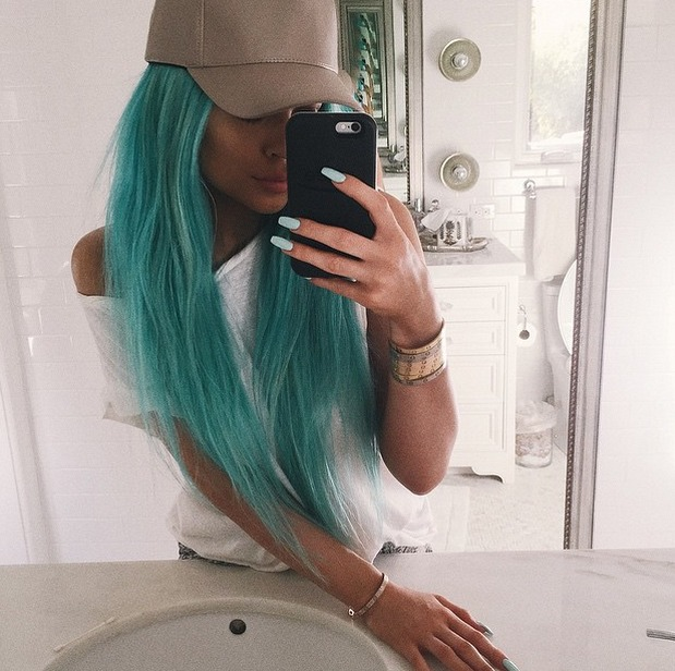 Jourdan Dunn and Kylie Jenner Reveal Blue Hair For Coachella