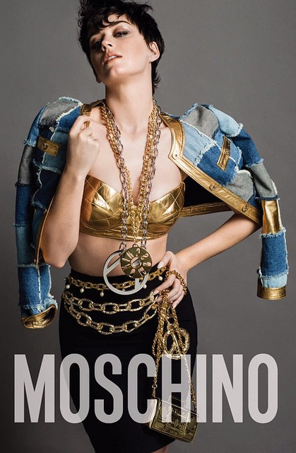 Katy Perry Gets Flashy for Moschino