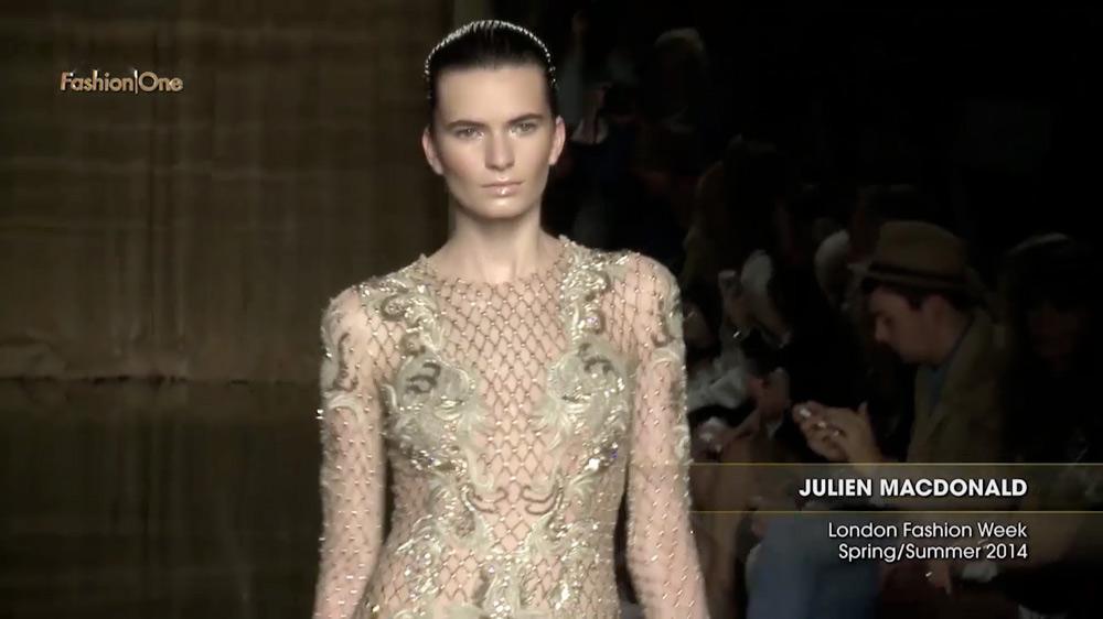 Julien Macdonald London Fashion Week Spring Summer 2014