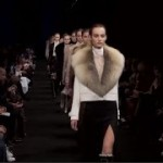 Sexy, powerful and feminine 70s glamor struts on the runway at Altuzarra for fall