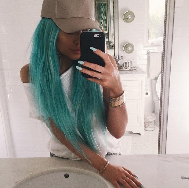 Jourdan Dunn and Kylie Jenner Reveal Blue Hair For Coachella
